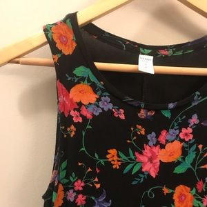 Old Navy Floral Tank Top